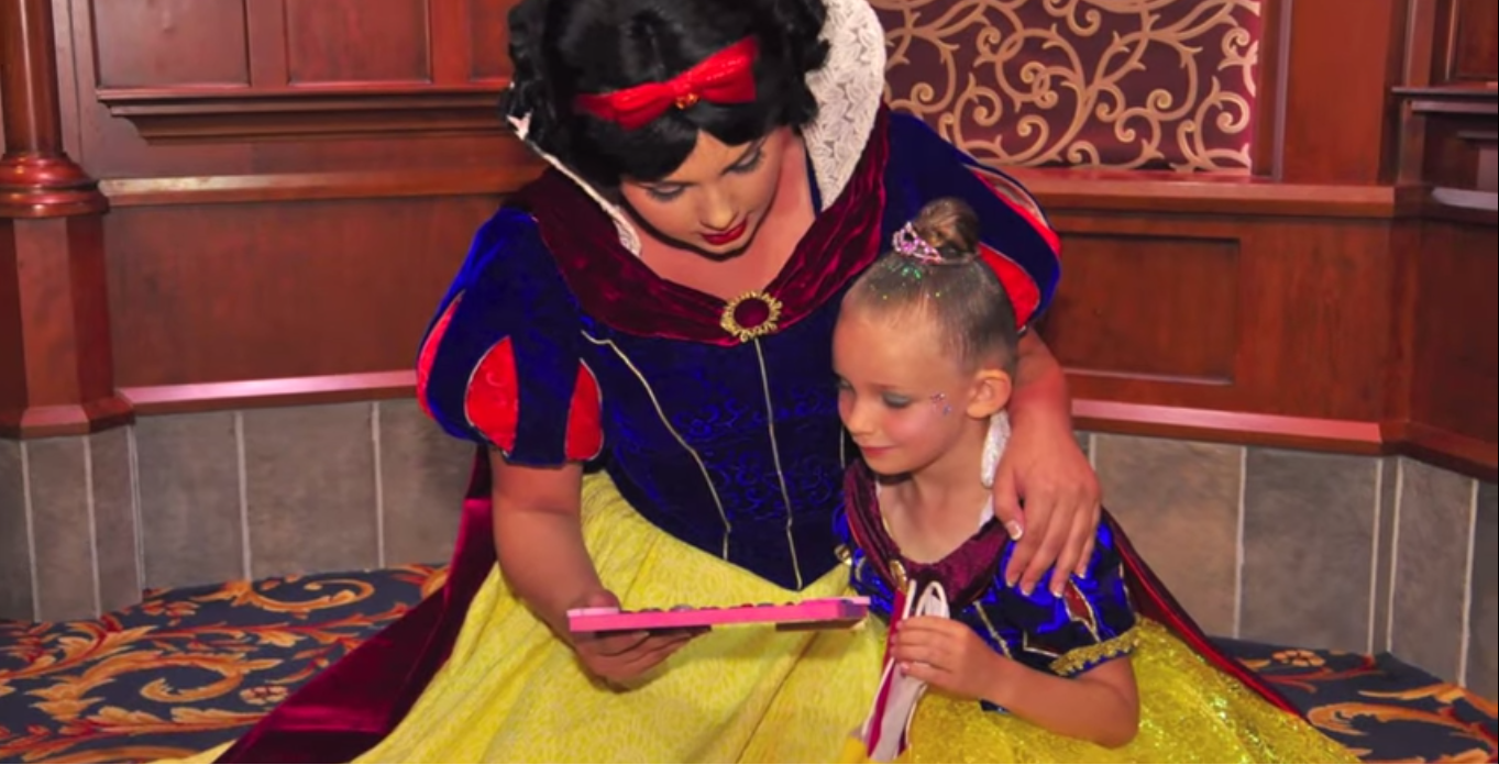 Disneylandmarinesurprise