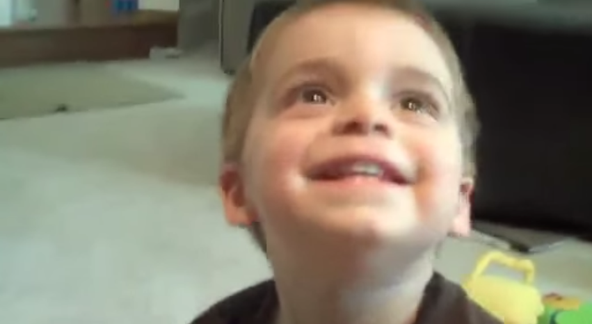 Little Boy Can't Say Holy Cow… Warning, Language!