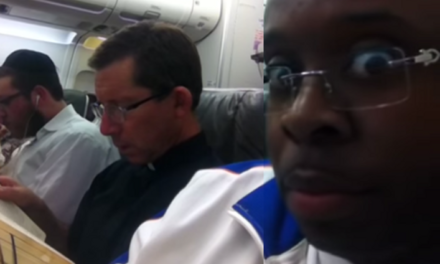 So a Black Guy, a Priest and a Rabbi Got on a Plane.