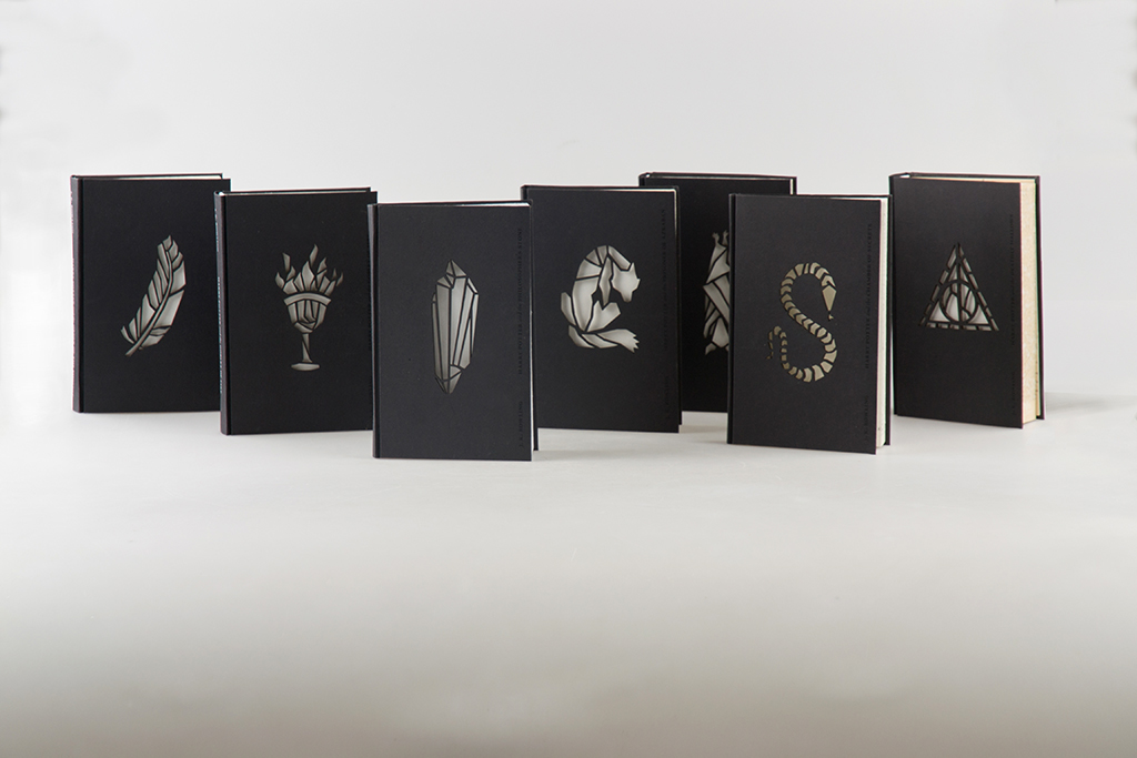 Harry Potter Book Jackets For Sale : Jaw dropping redesign of harry potter book covers simple