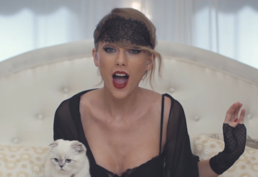 Taylor Swift Opens Mouth, Sings Great Song.