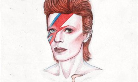 Transformation of David Bowie in 10 Seconds.