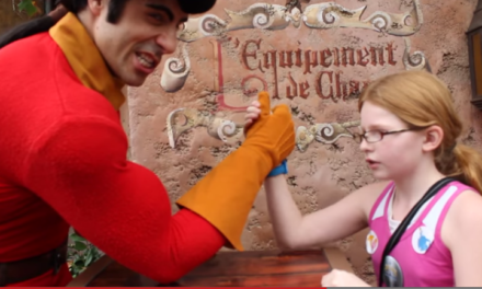 Gaston Arm Wrestles a Girl. He's At It Again.