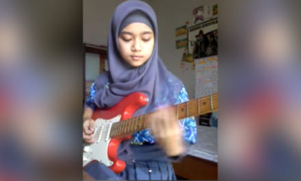 Girl Plays Different Music Than You'd Expect.