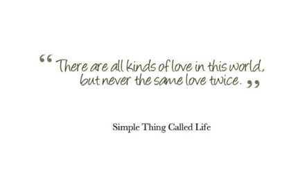 There Are All Kinds of Love in This World.