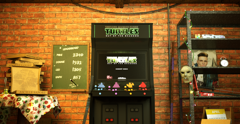 Ninja Turtles Mancave of Dreams