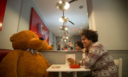 Real Life Ted – Man Spends Valentines Day With Bear.