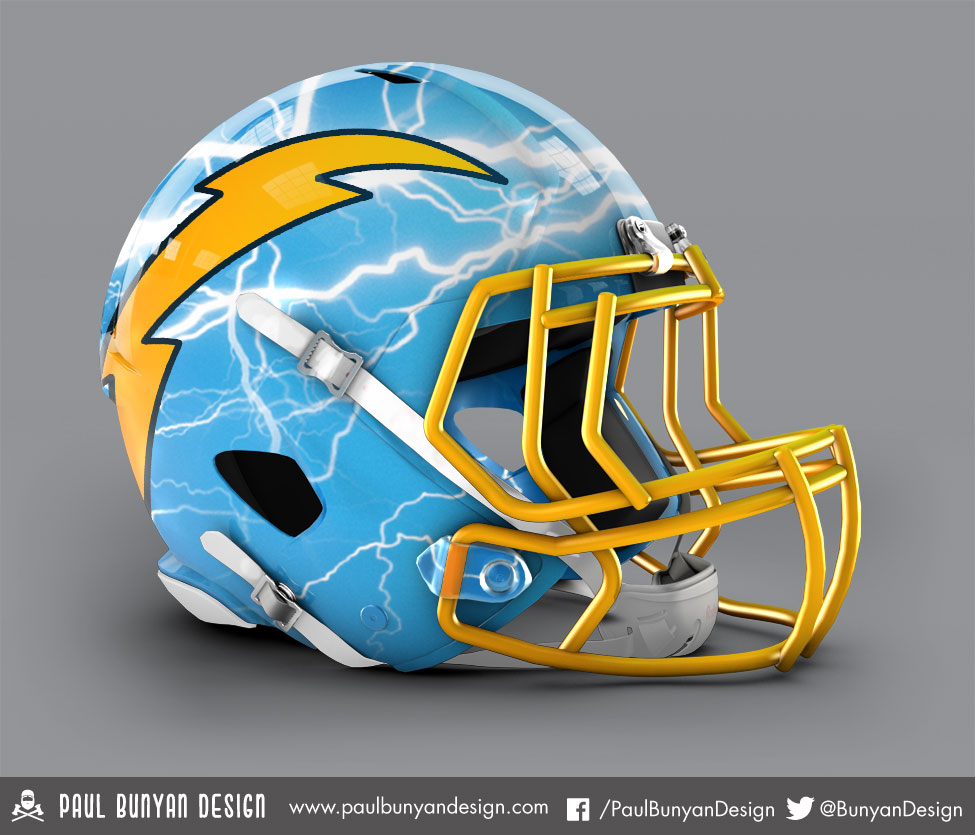 nfl helmets get jaw dropping redesign simple thing called life