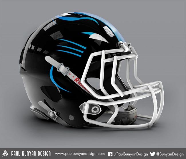NFL Helmets Get Jaw Dropping Redesign