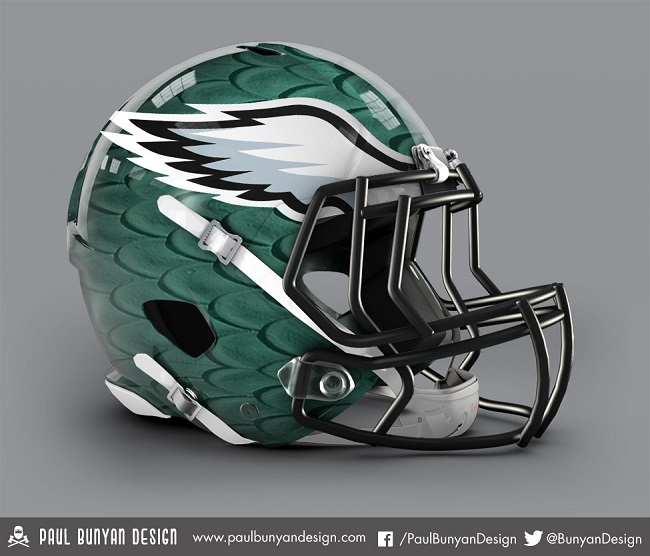 Nfl Helmets Get Jaw Dropping Redesign Simple Thing