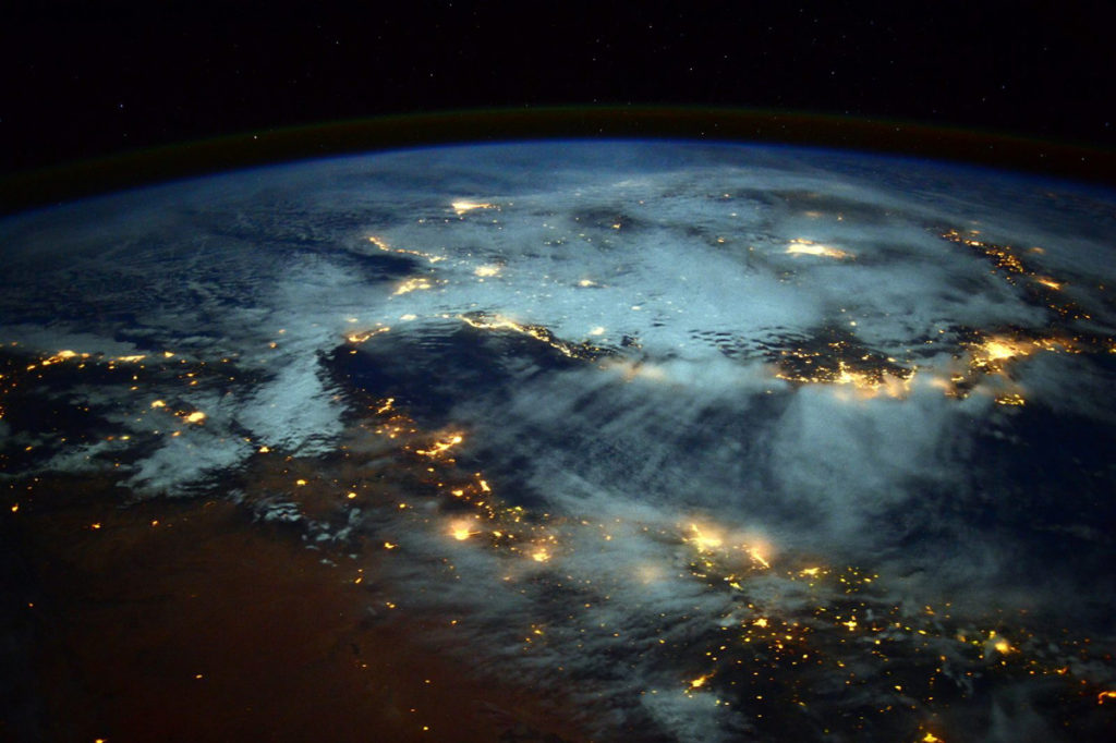 An Astronaut's Awesome View of Earth from Space. - Simple ...