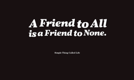 What Does It Mean to Be a Friend?