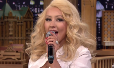 Christina Aguilera Nails Britney Spears Impression.