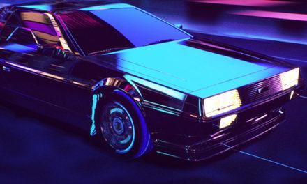 'Back to the Future' Delorean Visualized in the Future.