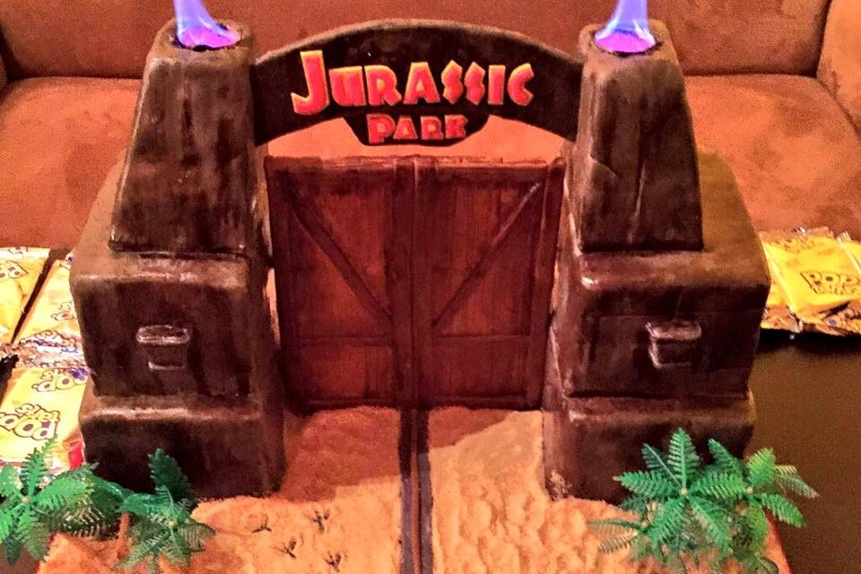Awesome Jurassic Park Birthday Cake Simple Thing Called Life