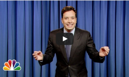 Audience Member Can't Stop Laughing at Jimmy Fallon.