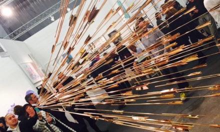 100 Arrows Frozen in Motion