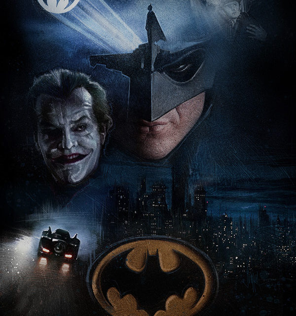 Fan Made Movie Posters from 1989 Batman Film.