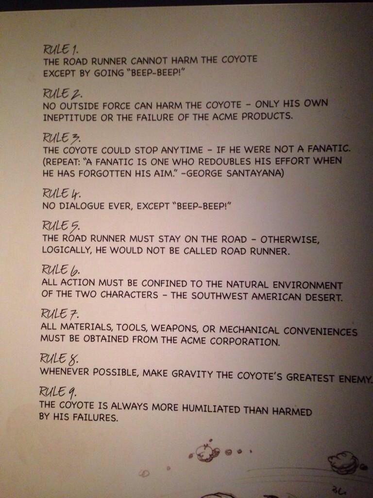 Road-Runner-Rules