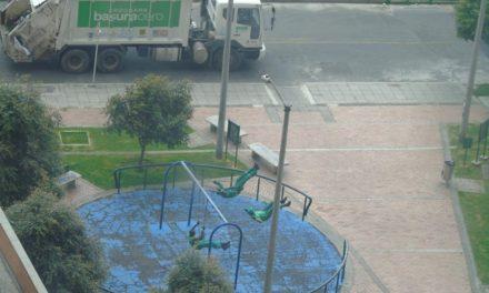 Even Garbagemen Love Playground Swings