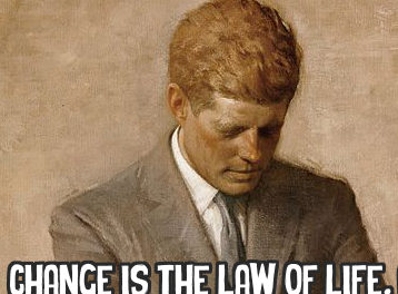 John F. Kennedy on Change and the Law of Life.