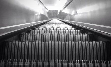 An escalator can never break, it can only become stairs. 'Escalator Temporarily Stairs. Sorry for the convenience.' – Mitch Hedberg