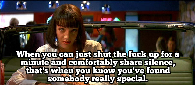 Pulp Fiction Love Quote