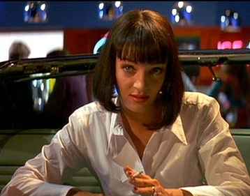 Love Advice from Pulp Fiction's Mia Wallace
