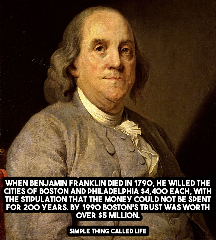 How Benjamin Franklin Turned $4,400 into $5 million ...