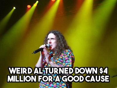 That Time Weird Al Turned Down Millions in Beer Money