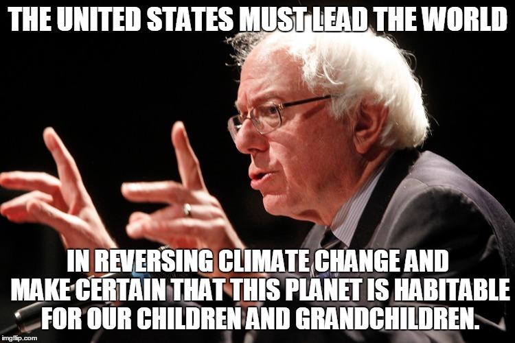 5 - Bernie on Climate change