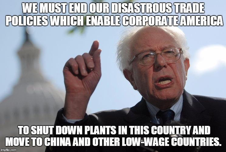 6 - Bernie on trade