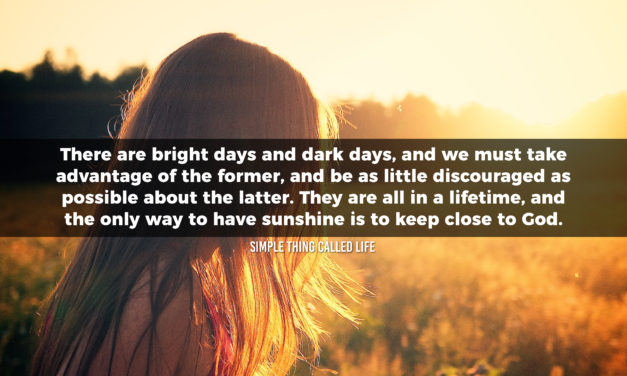 Bright Days & Dark Days