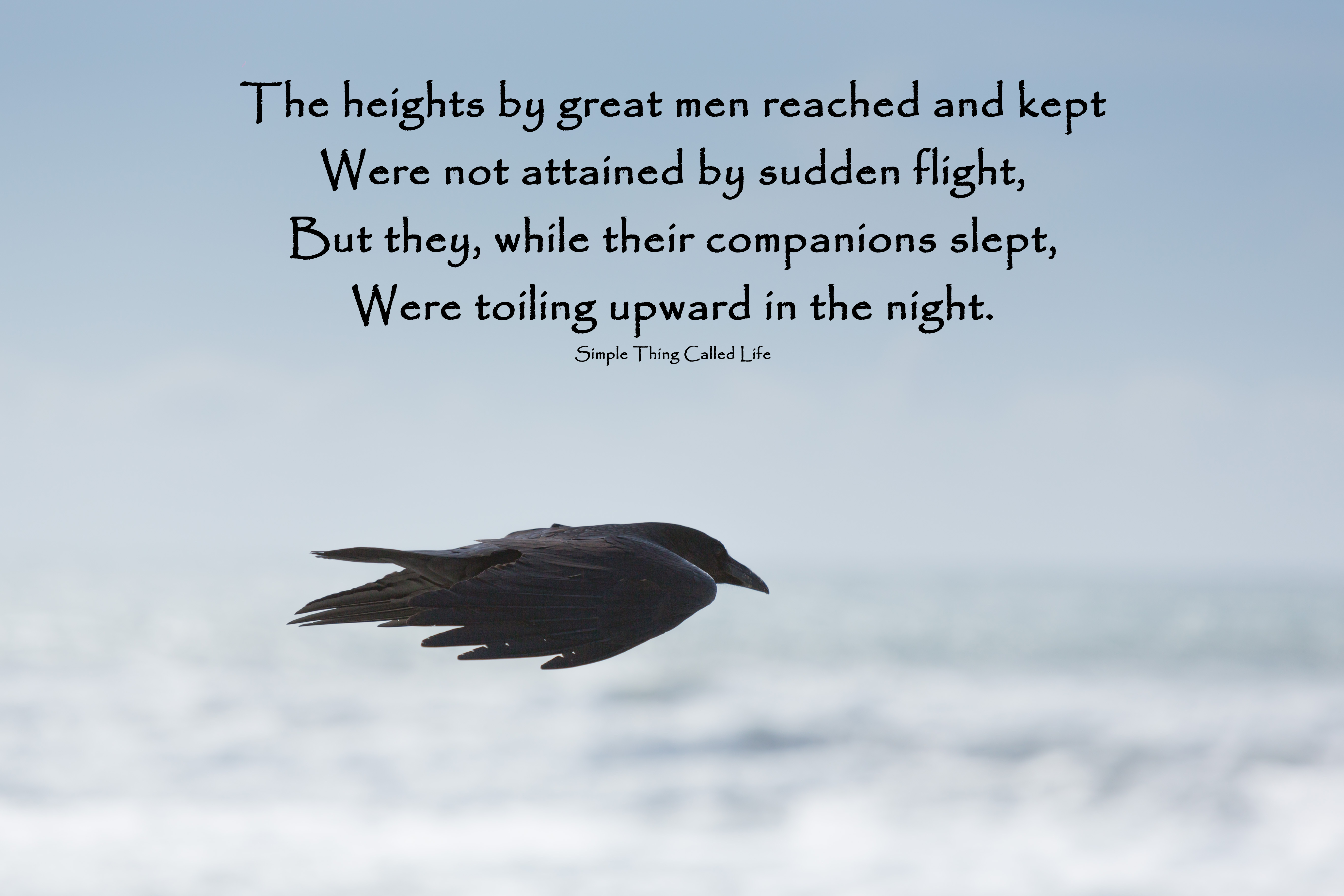 the heights by great men reached and kept henry wadsworth longfellow