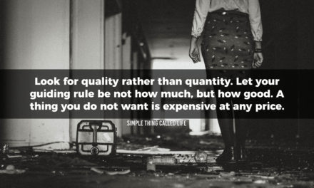 Quality Over Quantity in All Things