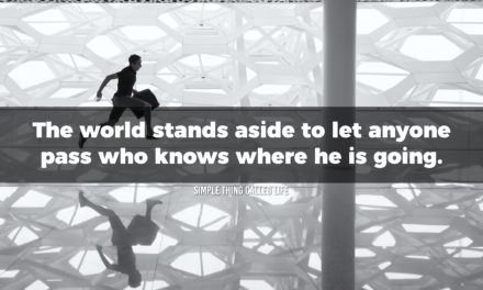 Make the world stand aside