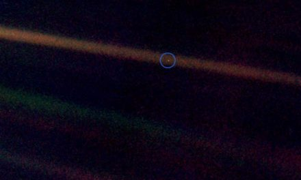 See that Pale Blue Dot?
