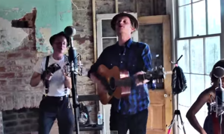 """Lumineers Performing """"Stubborn Love"""" on a Rooftop"""