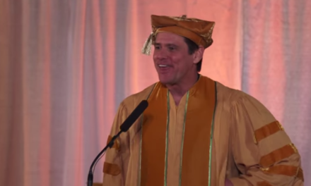 Jim Carrey Advises Students to Live in the Moment