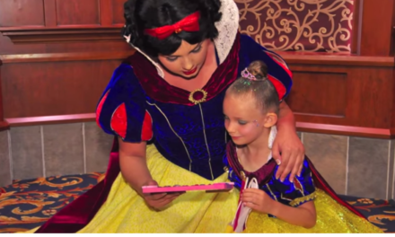 Disney Surprised This Girl With The Best Gift Ever.