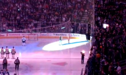 Canadians Finish Singing U.S. National Anthem After Technical Difficulties.