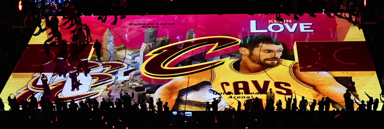 The Cavaliers Projection System is Amazing.