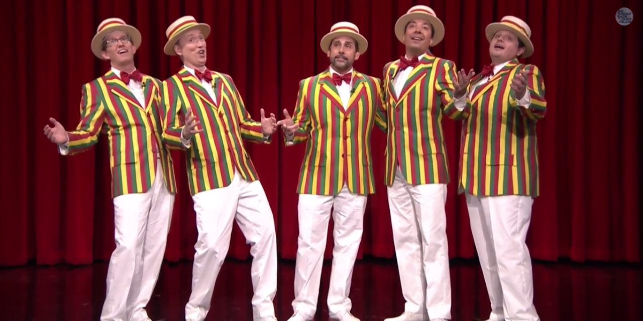 Steve Carrell Sings Sexual Healing on the Jimmy Fallon Show.