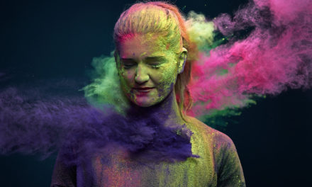 Awesome Photos of People Throwing Holi Colors.