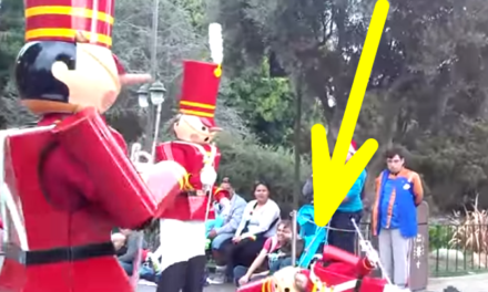 Disney's Christmas Parade: Toy Soldier Takes a Nosedive.