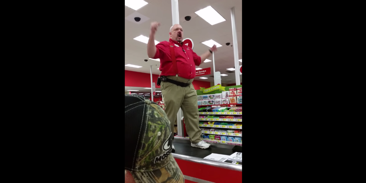 Store Manager Goes Crazy on Black Friday. Summons Sparta for Assistance.