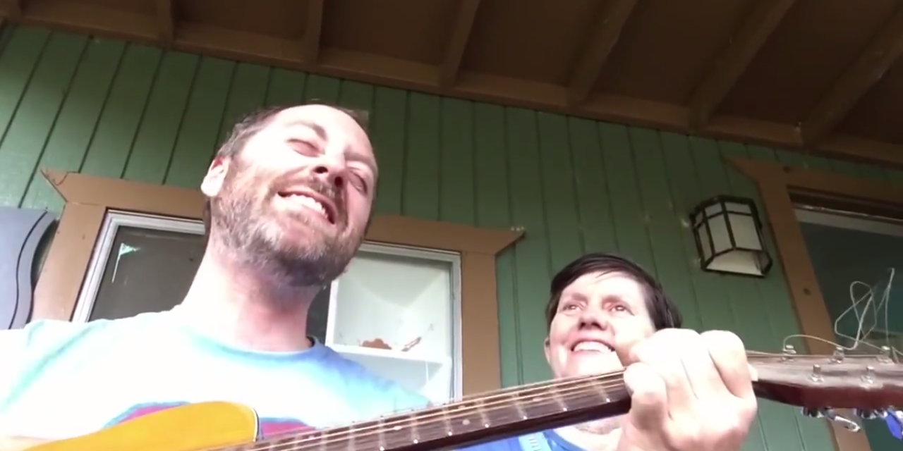 Son Sings to Mom With Alzheimer's. Beautiful.