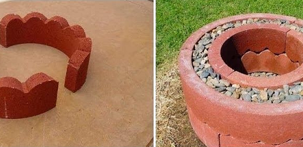 Lifehack #5 Make a Simple Homemade Firepit.