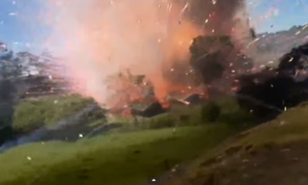 This is What an Exploding Fireworks Factory Looks Like.