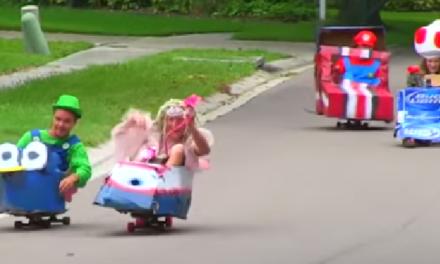 Mario Kart in Real Life.